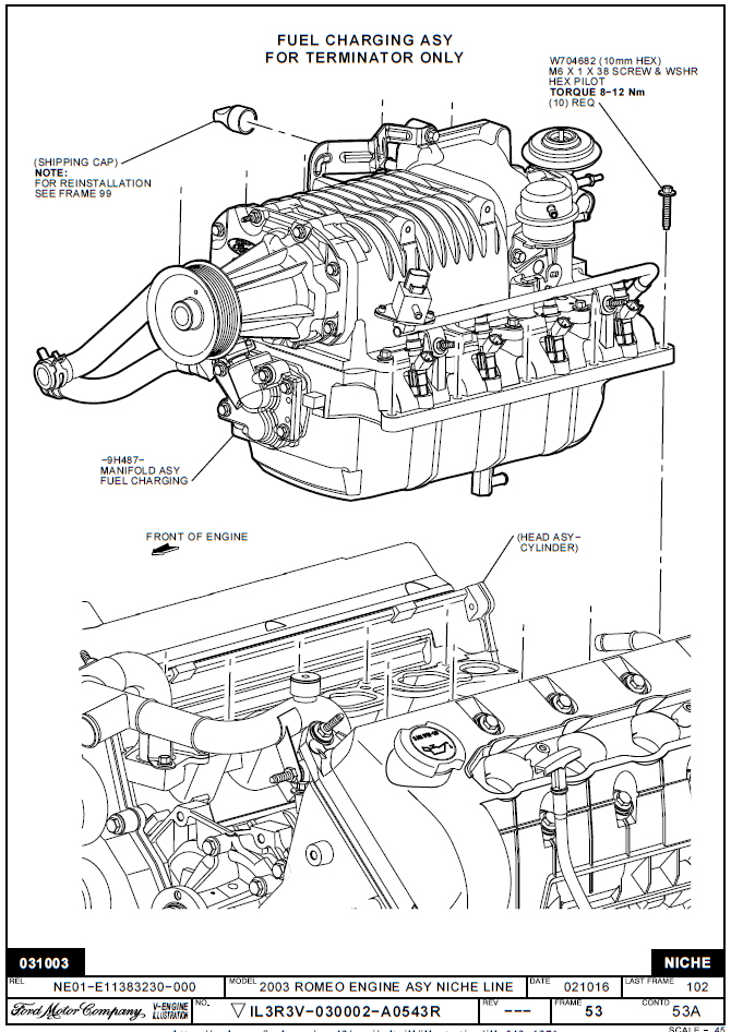 2004 ford 5 4 supercharged engine diagram