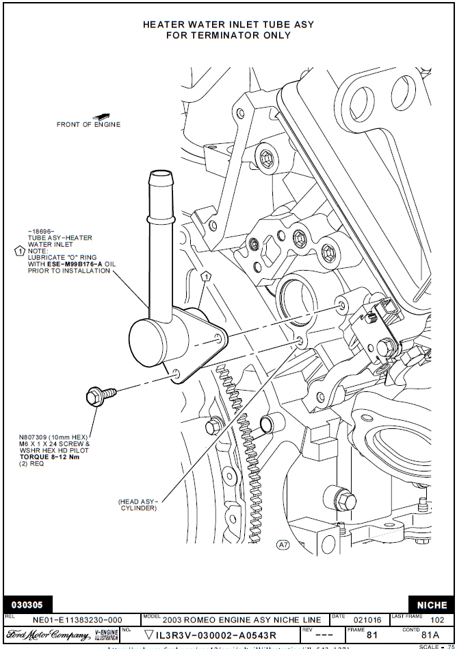 Ford 4 6 Engine Oil Flow Diagram